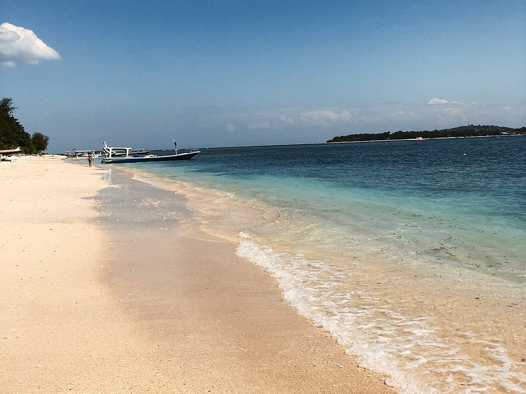 Strand Gili Air in Bali