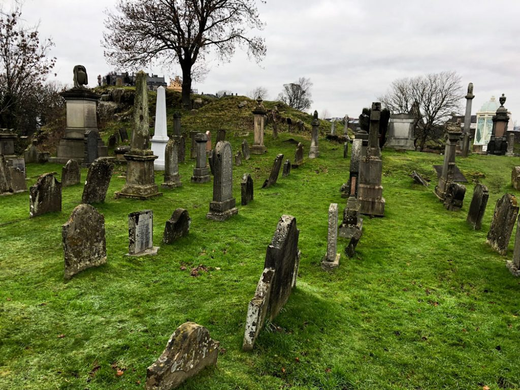old town cemetery Stirling Schottland